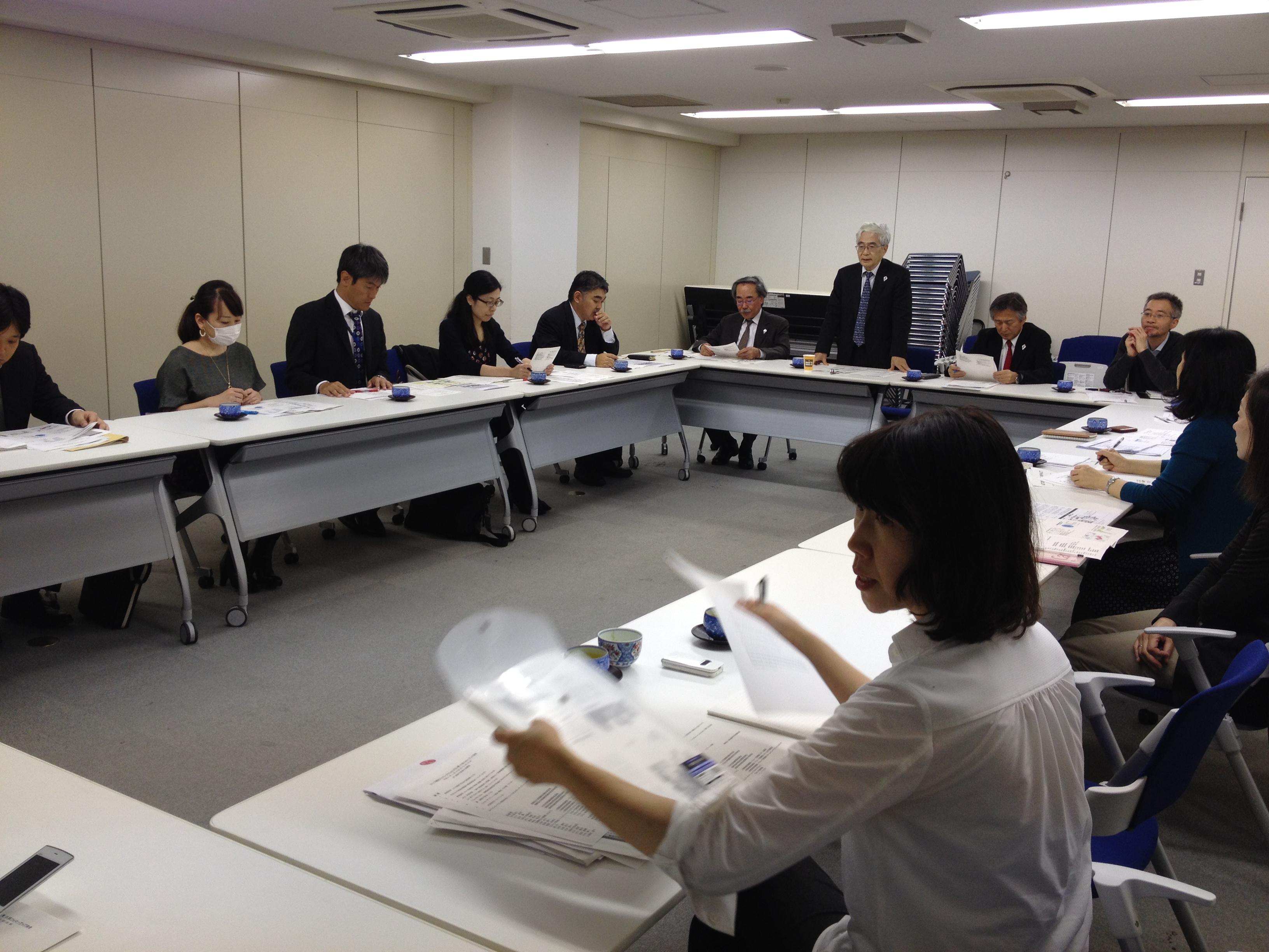 ストップ結核ジャパンアクションプラン・フォローアップ会合に参加