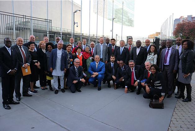 「国連ハイレベル会合に向けた世界結核議連会合」が開催