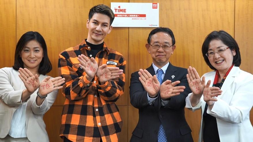 3月24日は世界結核デー  ストップ結核パートナーシップボランティア大使のJOYさんとの スペシャル対談動画をWEBで公開!